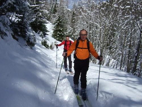Foto: hofchri / Ski Tour / Zwölferhorn (1521m) von Tiefbrunnau über Stubneralm / 16.12.2008 19:03:25