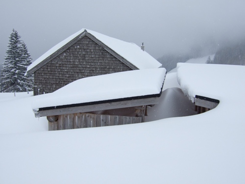 Foto: hofchri / Ski Tour / Zwölferhorn (1521m) von Tiefbrunnau über Stubneralm / 16.12.2008 19:03:29