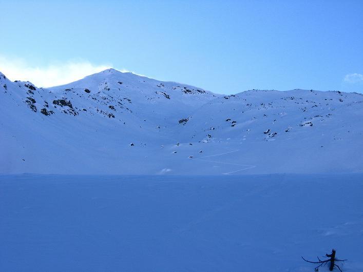 Foto: Andreas Koller / Ski Tour / Vom Durnholzer See auf das Schrotthorn (2590m)  / Alternative: die Kassianspitze (2581 m) / 16.12.2008 01:26:29