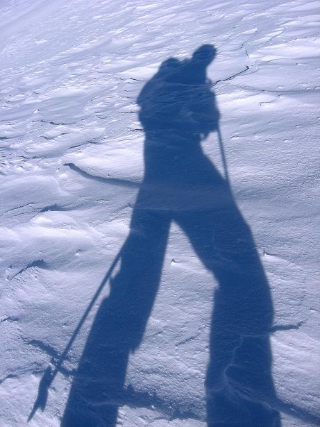 Foto: Andreas Koller / Ski Tour / Vom Durnholzer See auf das Schrotthorn (2590m)  / Einziger Begleiter / 16.12.2008 01:24:19