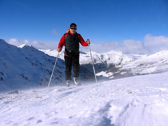 Foto: Andreas Koller / Ski Tour / Vom Durnholzer See auf das Schrotthorn (2590m)  / In der Fortschellscharte / 16.12.2008 01:23:27