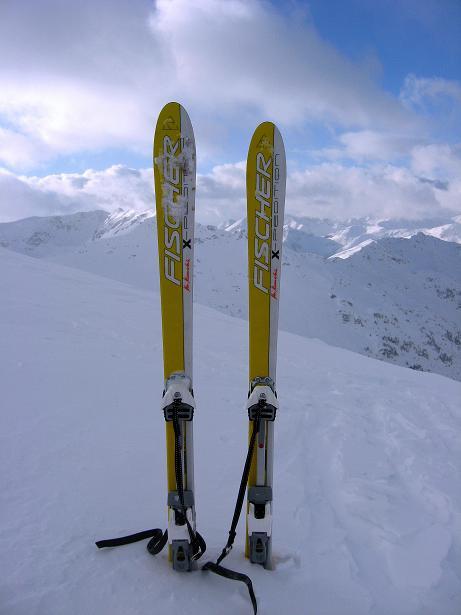Foto: Andreas Koller / Ski Tour / Vom Durnholzer See auf das Schrotthorn (2590m)  / Blick vom Plankenhorn nach W / 16.12.2008 01:16:55
