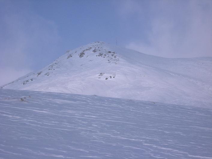 Foto: Andreas Koller / Ski Tour / Vom Durnholzer See auf das Schrotthorn (2590m)  / Aussicht über den weiteren Tourenverlauf zum Schrotthorn / 16.12.2008 01:14:11