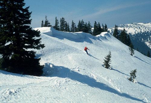 Foto: Kurt Schall / Ski Tour / Lahnberg 1594 m, Donnerkogel 1617 m / 16.12.2008 09:13:56