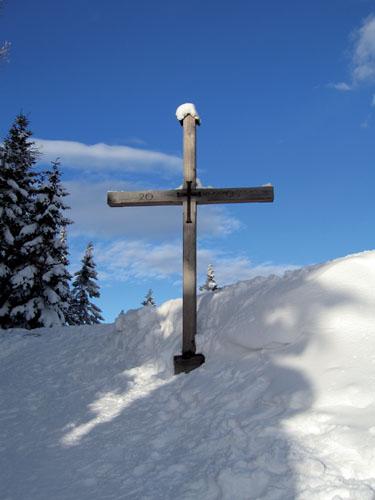 Foto: Kurt Schall / Ski Tour / Kreuzschober (Kaarl) 1410 m / 16.12.2008 09:43:37