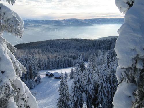 Foto: Kurt Schall / Ski Tour / Kreuzschober (Kaarl) 1410 m / 16.12.2008 09:43:45
