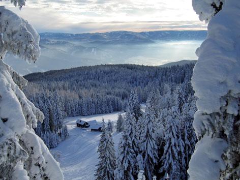 Foto: Kurt Schall / Ski Tour / Kreuzschober (Kaarl) 1410 m / 16.12.2008 09:43:51