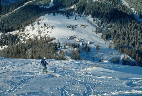 Foto: Kurt Schall / Ski Tour / Hochanger 1682 m, Vom Seealmhaus über das Lappental / 16.12.2008 10:11:36
