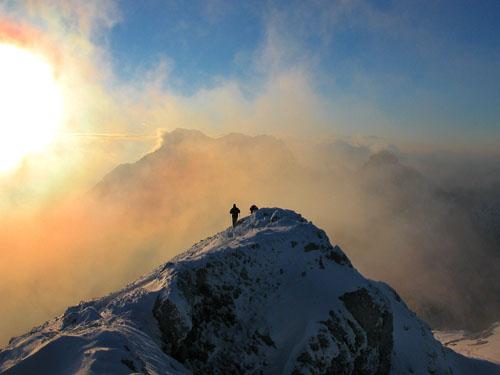 Foto: Kurt Schall / Ski Tour / Tamischbachturm 2035 m, Von Westen über die Ennstalerhütte / 16.12.2008 10:44:37