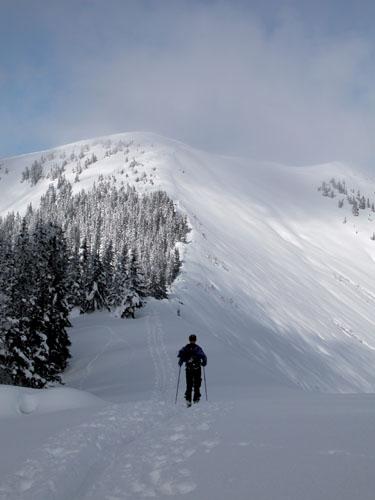 Foto: Kurt Schall / Ski Tour / Vöttleck 1888 m, abseits der Triebener Standardziele / 16.12.2008 12:24:04