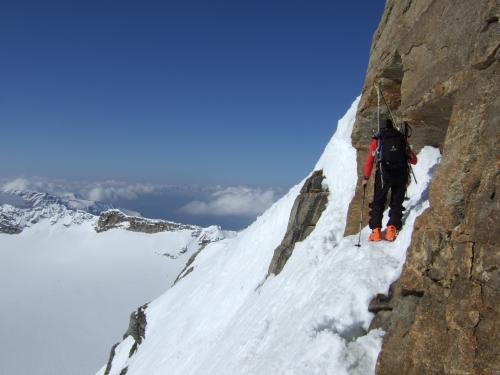 Foto: hofchri / Ski Tour / Rauriser Sonnblick (3106m) und Hocharn (3254m) von Kolm Saigurn / 16.12.2008 21:39:43