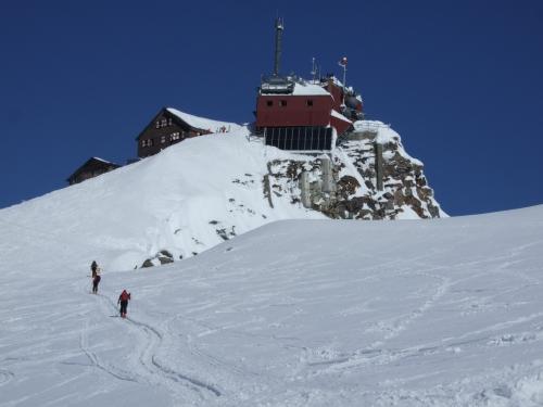 Foto: hofchri / Ski Tour / Rauriser Sonnblick (3106m) und Hocharn (3254m) von Kolm Saigurn / 16.12.2008 21:39:50