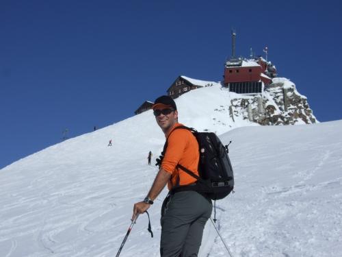 Foto: hofchri / Ski Tour / Rauriser Sonnblick (3106m) und Hocharn (3254m) von Kolm Saigurn / 16.12.2008 21:39:55