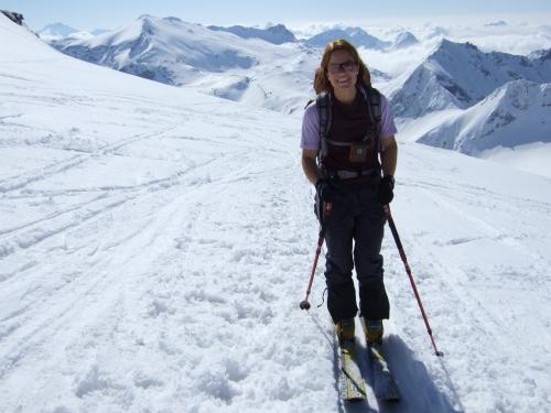 Foto: hofchri / Ski Tour / Rauriser Sonnblick (3106m) und Hocharn (3254m) von Kolm Saigurn / 16.12.2008 21:40:01