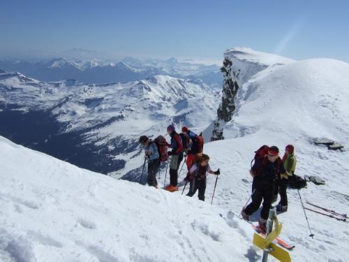 Foto: hofchri / Ski Tour / Rauriser Sonnblick (3106m) und Hocharn (3254m) von Kolm Saigurn / 16.12.2008 21:40:09