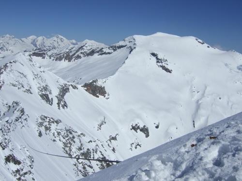 Foto: hofchri / Ski Tour / Rauriser Sonnblick (3106m) und Hocharn (3254m) von Kolm Saigurn / 16.12.2008 21:40:14