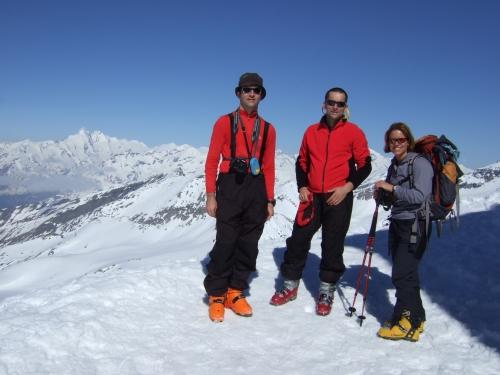 Foto: hofchri / Ski Tour / Rauriser Sonnblick (3106m) und Hocharn (3254m) von Kolm Saigurn / 16.12.2008 21:40:21