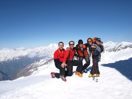Foto: hofchri / Ski Tour / Rauriser Sonnblick (3106m) und Hocharn (3254m) von Kolm Saigurn / 16.12.2008 21:40:25