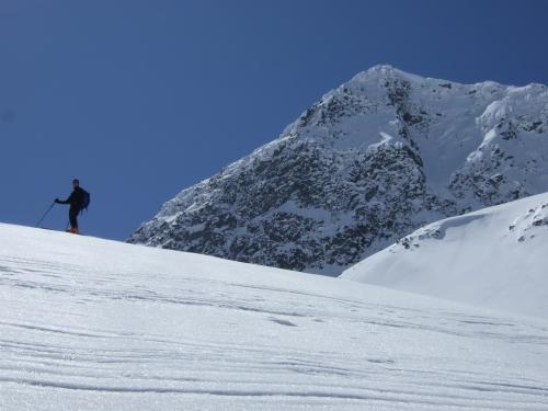 Foto: hofchri / Ski Tour / Rauriser Sonnblick (3106m) und Hocharn (3254m) von Kolm Saigurn / 16.12.2008 21:40:31