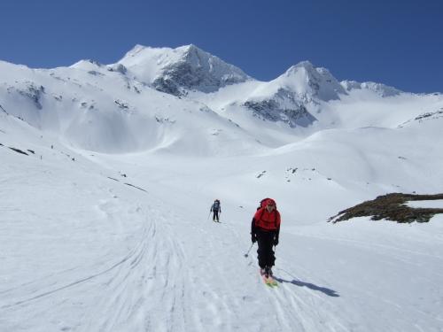 Foto: hofchri / Ski Tour / Rauriser Sonnblick (3106m) und Hocharn (3254m) von Kolm Saigurn / 16.12.2008 21:40:37