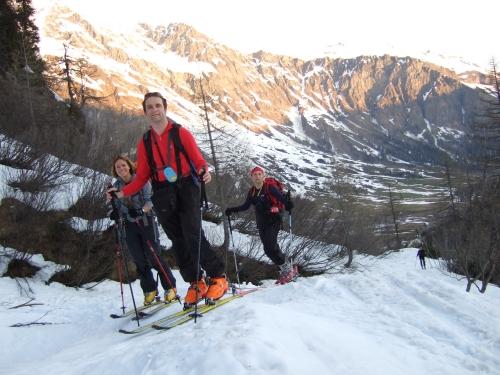 Foto: hofchri / Ski Tour / Rauriser Sonnblick (3106m) und Hocharn (3254m) von Kolm Saigurn / 16.12.2008 21:38:33