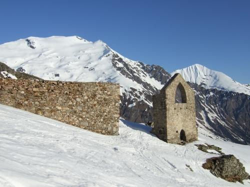 Foto: hofchri / Ski Tour / Rauriser Sonnblick (3106m) und Hocharn (3254m) von Kolm Saigurn / 16.12.2008 21:38:39