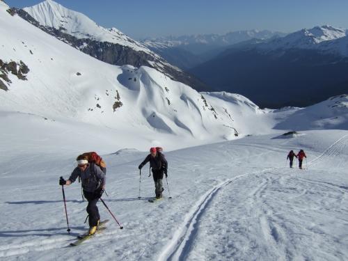 Foto: hofchri / Ski Tour / Rauriser Sonnblick (3106m) und Hocharn (3254m) von Kolm Saigurn / 16.12.2008 21:39:22