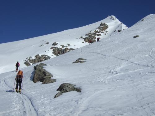 Foto: hofchri / Ski Tour / Rauriser Sonnblick (3106m) und Hocharn (3254m) von Kolm Saigurn / 16.12.2008 21:39:37
