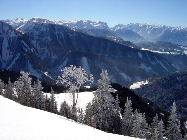Foto: Manfred Karl / Ski Tour / Vom Satzstein auf das Auhofköpfl / Tennengebirge - Hochkönig / 18.12.2008 08:25:57