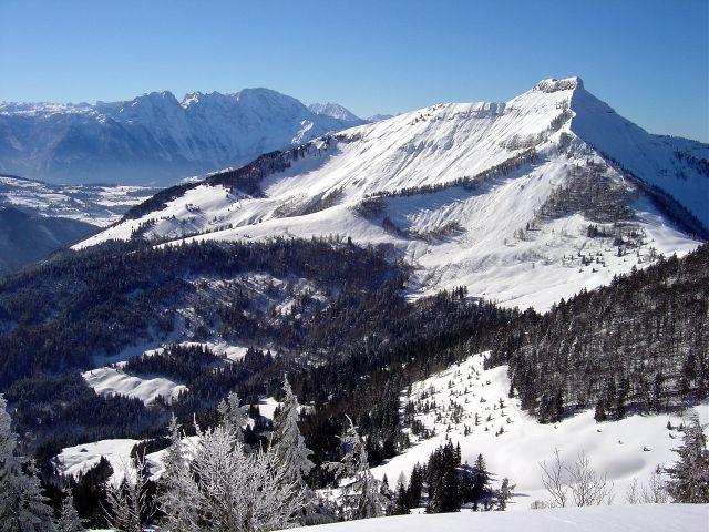 Foto: Manfred Karl / Ski Tour / Vom Satzstein auf das Auhofköpfl / Hoher Göll - Schmittenstein / 18.12.2008 08:25:36