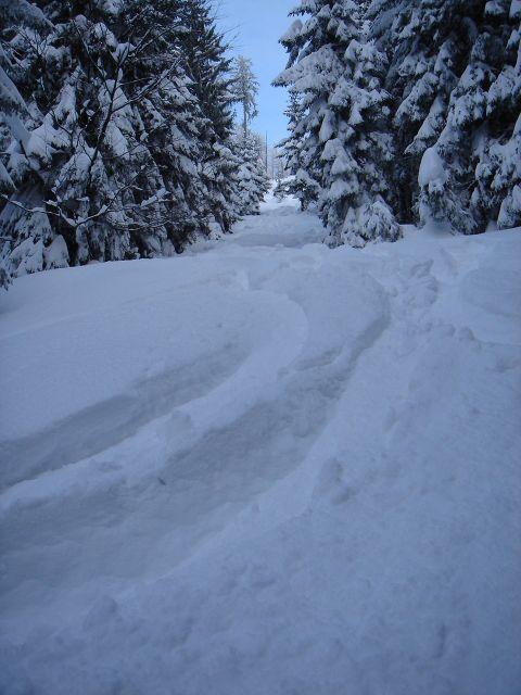 Foto: Manfred Karl / Ski Tour / Vom Satzstein auf das Auhofköpfl / Fast schon zu viel Schnee / 18.12.2008 08:22:55