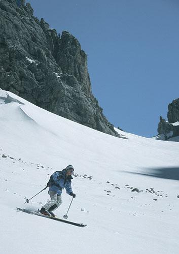 Foto: Kurt Schall / Ski Tour / Grünsteinscharte 2272 m / 18.12.2008 08:35:42