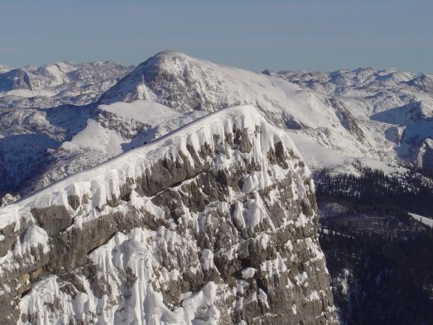 Foto: Manfred Karl / Ski Tour / Von der Wimbachbrücke auf das Dritte Watzmannkind / Drittes Watzmannkind / 18.12.2008 08:51:17
