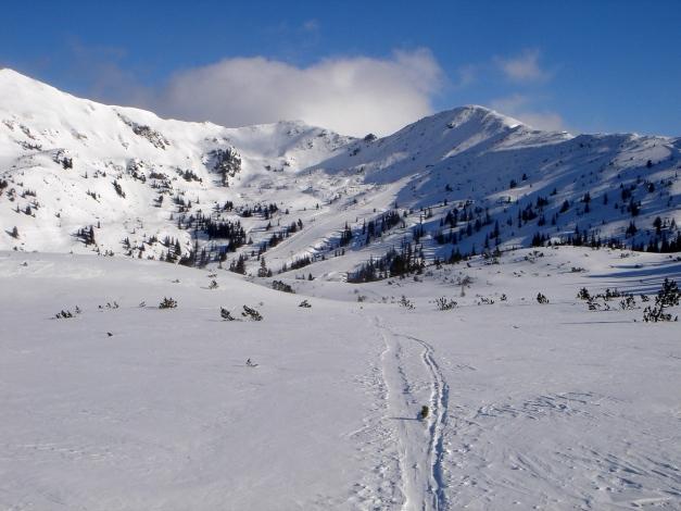 Foto: Manfred Karl / Ski Tour / Zwei leichte Gipfel über dem Kessel der Planneralm / Plannerkessel / 18.12.2008 09:30:19