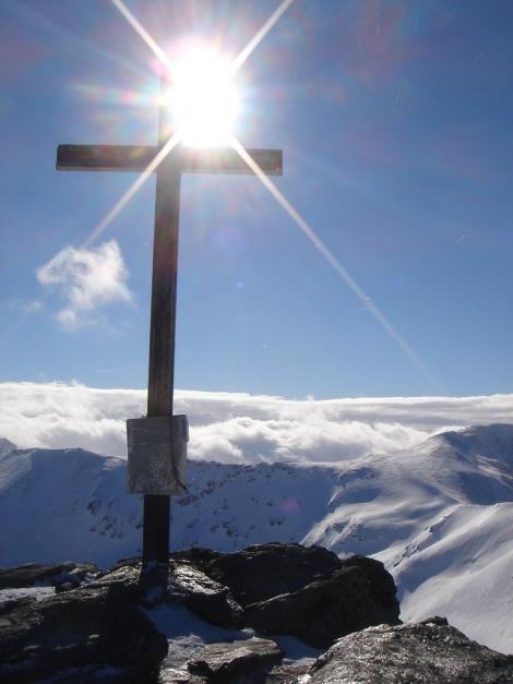 Foto: Manfred Karl / Ski Tour / Zwei leichte Gipfel über dem Kessel der Planneralm / Karlspitze / 18.12.2008 09:23:51