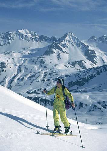 Foto: Kurt Schall / Ski Tour / Kaltenberg 2896 m / 18.12.2008 09:19:31