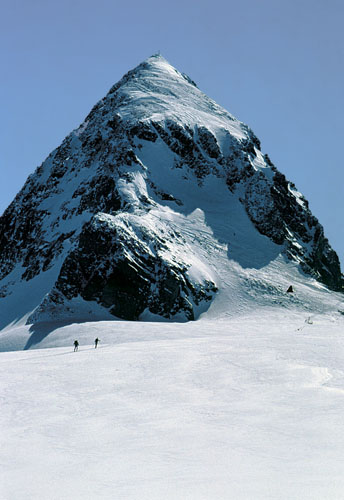 Foto: Kurt Schall / Ski Tour / Piz Buin 3312 m / 18.12.2008 09:47:01