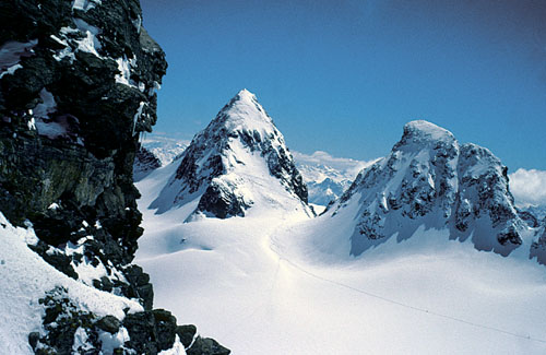 Foto: Kurt Schall / Ski Tour / Piz Buin 3312 m / 18.12.2008 09:48:02