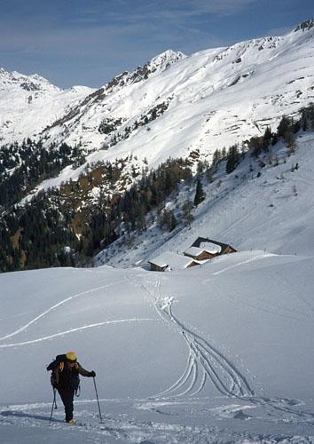 Foto: Kurt Schall / Ski Tour / Scheibenspitze 2489 m / 18.12.2008 10:00:56