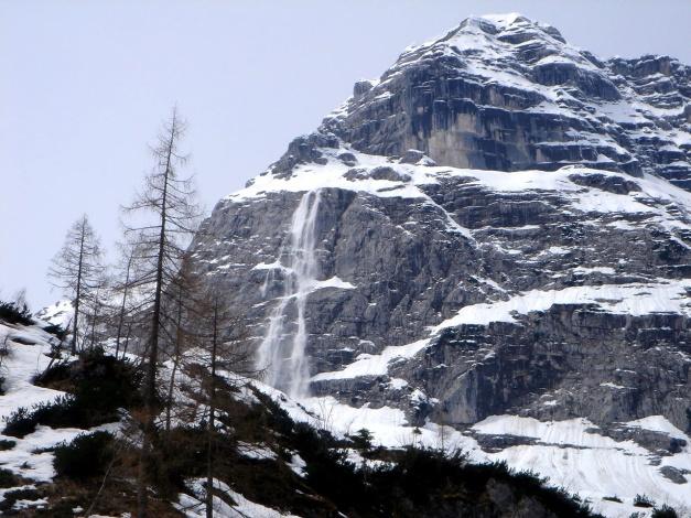 Foto: Manfred Karl / Ski Tour / Skihörndl - Frühjahrsklassiker in den Loferer Steinbergen / Nassschneerutsch vom Breithorn / 18.12.2008 10:15:53