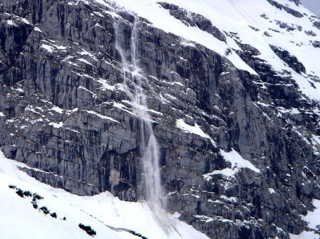Foto: Manfred Karl / Ski Tour / Skihörndl - Frühjahrsklassiker in den Loferer Steinbergen / Deutliche Warnung! / 18.12.2008 10:15:28