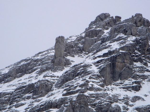 Foto: Manfred Karl / Ski Tour / Skihörndl - Frühjahrsklassiker in den Loferer Steinbergen / Ochsendaumen / 18.12.2008 10:12:32