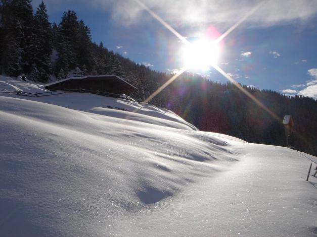 Foto: Manfred Karl / Ski Tour / Aus dem Windautal auf das Gerstinger Joch / 18.12.2008 10:57:18