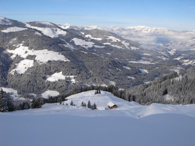 Foto: Manfred Karl / Ski Tour / Aus dem Windautal auf das Gerstinger Joch / Scheibenschlag Niederalm / 18.12.2008 10:55:46