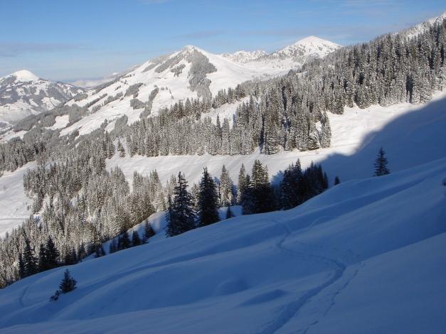 Foto: Manfred Karl / Ski Tour / Aus dem Windautal auf das Gerstinger Joch / Fleiding und Gampenkogel / 18.12.2008 10:54:35