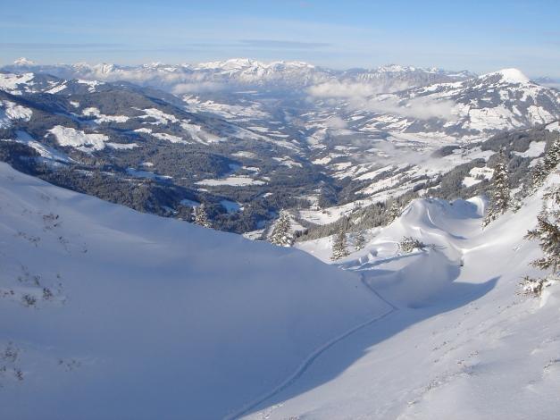 Foto: Manfred Karl / Ski Tour / Aus dem Windautal auf das Gerstinger Joch / 18.12.2008 10:49:54