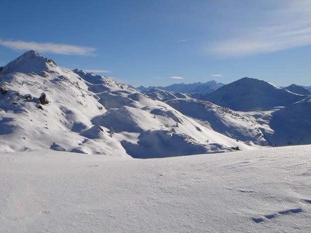 Foto: Manfred Karl / Ski Tour / Aus dem Windautal auf das Gerstinger Joch / Blick vom Vorgipfel nach Süden / 18.12.2008 10:49:13