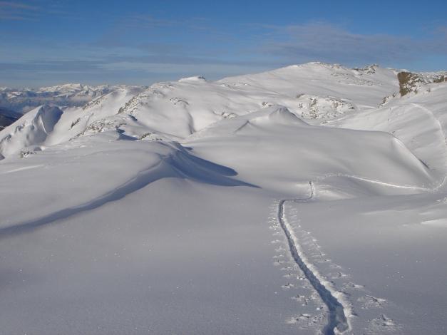 Foto: Manfred Karl / Ski Tour / Aus dem Windautal auf das Gerstinger Joch / 18.12.2008 10:48:39