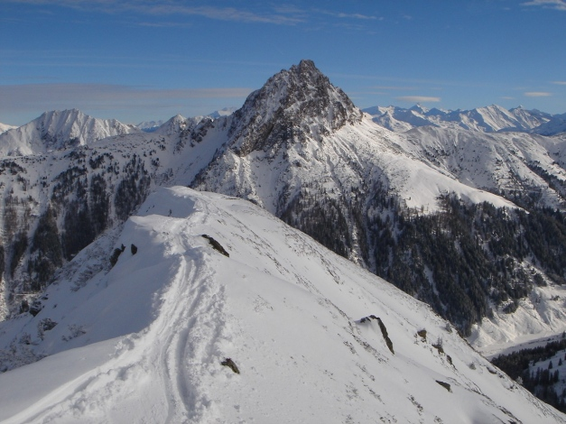 Foto: Manfred Karl / Ski Tour / Aus dem Windautal auf das Gerstinger Joch / Auch vom Spertental ist das Gerstinger Joch erreichbar / 18.12.2008 10:47:26