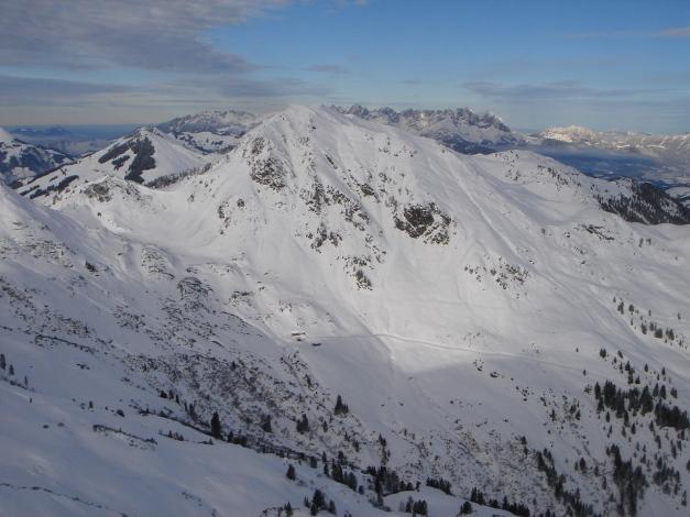 Foto: Manfred Karl / Ski Tour / Aus dem Windautal auf das Gerstinger Joch / Brechhorn / 18.12.2008 10:46:50